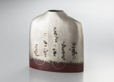 "Oshiyama Motoko, 'Silver Vase ""Spring Light""', 2016"