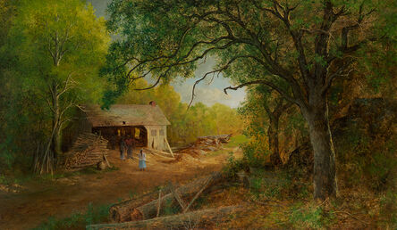 Ralph Albert Blakelock, 'A Sawmill in the Woods ', Late 19th century