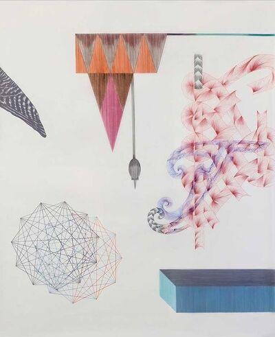 Malu Saddi, 'Da série Inverte a natureza dos quatro elementos e em breve descobrirás o que procuras', 2014