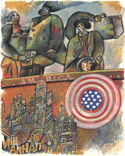 Theo Tobiasse, 'America', 1986