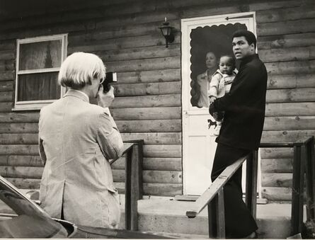 Andy Warhol, 'Andy Warhol with Muhammad Ali 1977', 1977