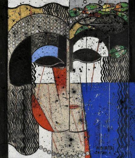 Saâd Ben Cheffaj, 'Portrait', 2017