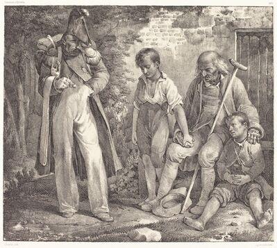 Nicolas-Toussaint Charlet, 'L'Aumône'