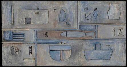 José Gurvich, 'White relief', 1962