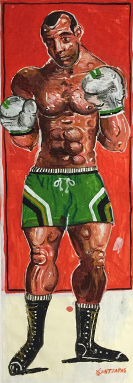 Apostolos Chantzaras, 'Dorieus - Boxer #3', 2015