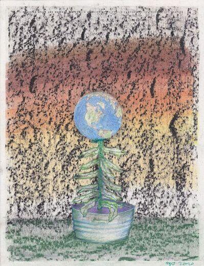 Matthew Day Jackson, 'Letterhead Drawing #50'