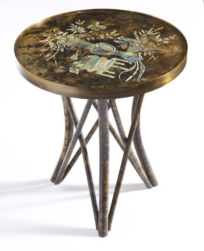 Philip and Kelvin LaVerne, 'Side Table', ca. 1970