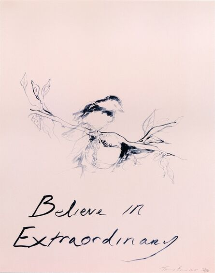 Tracey Emin, 'Believe In Extraordinary (2015) (signed)', 2015