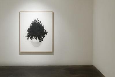 Eunju Kim, 'Calmly Drawing a Flower', 2014