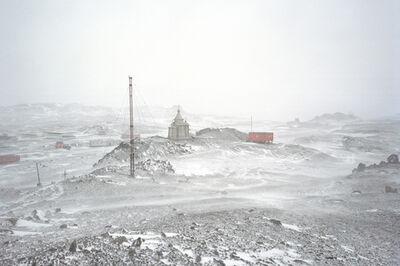 The Canary Project, 'Glacial, Icecap and Permafrost Melting XXXVI: Bellingshausen Base, King George Island, Antarctica', 2008
