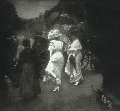 Edward Steichen, 'Grand Prix at Longchamp: After the Races, Paris', 1907