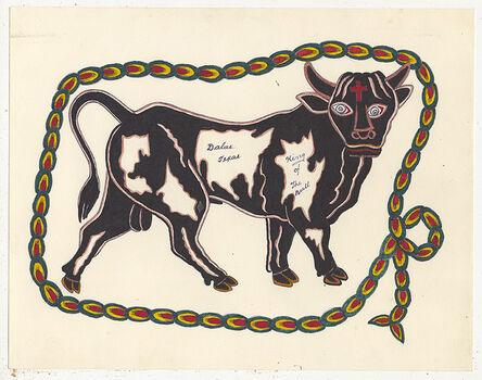 Rosie Camanga, 'Untitled (Bull Dallas Texas)', 1950-1980