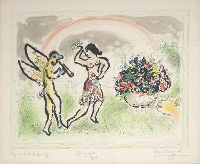 Marc Chagall, 'Bacchante', 1973