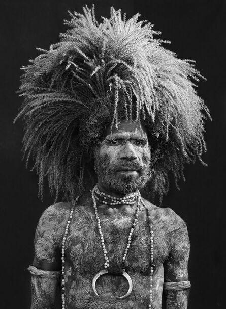 Sebastião Salgado, 'Performer of the singsing festival of Mount Hagen.Western Highlands Province. Papua New Guinea.', 2008