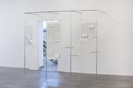 Mirjam Thomann, 'Good news – I hear the paradigm is shifting (Reutlingen)', 2012-2015