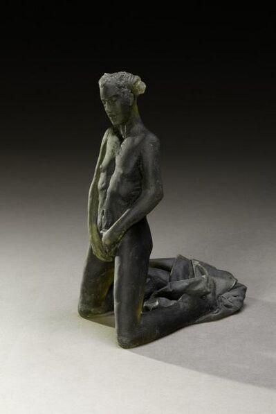 Nicolas Africano, 'Untitled Scheile Figure (variation/kneeling with garment)', 2015