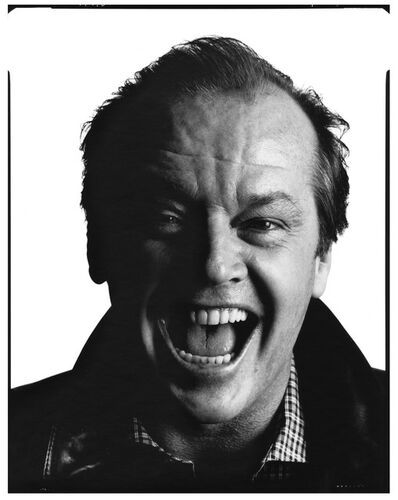 David Bailey, 'Jack Nicholson', 1984