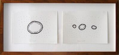 Vadim Fishkin, 'Geo-graphic (one hill, three hills)', 1989-2004