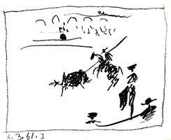 Pablo Picasso, 'La Pique', 1961