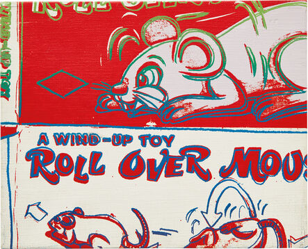 Andy Warhol, 'Rollover Mouse from the series Toy Paintings', 1983