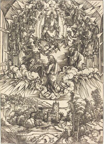 Albrecht Dürer, 'Saint John before God and the Elders', probably c. 1496/1498