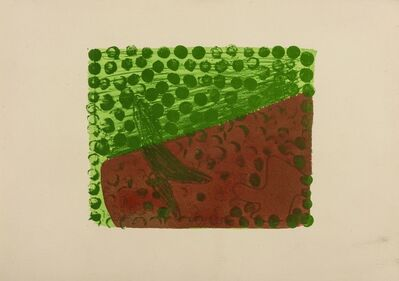 Howard Hodgkin, 'Green Chateau IV (Heenk 42)', 1978