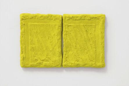 Pino Pinelli, 'Pittura G 2 elementi', 2007