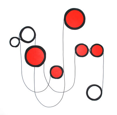 Quirarte y Ornelas, 'Line and Red Structure', 2014