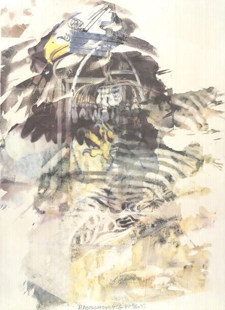 Robert Rauschenberg, 'Caucus', 1997