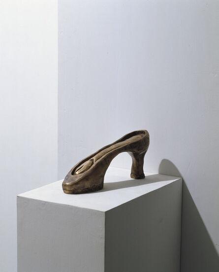 Carol Rama, 'Feticci (scarpa) (Fetishes (shoe))', 2003