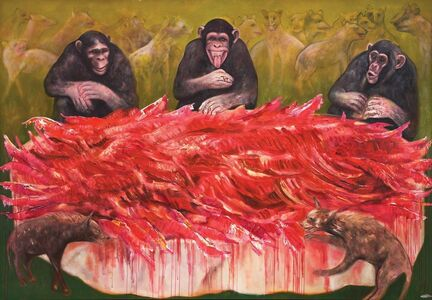 Muzaffer Akyol, 'Great Sharing of Mega Plunder of The Middle East', 2014