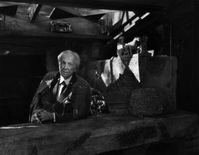 Yousuf Karsh, 'Frank Lloyd Wright', 1954