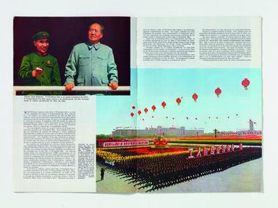 'Basket of mangoes on parade, China Revista Illustrada'