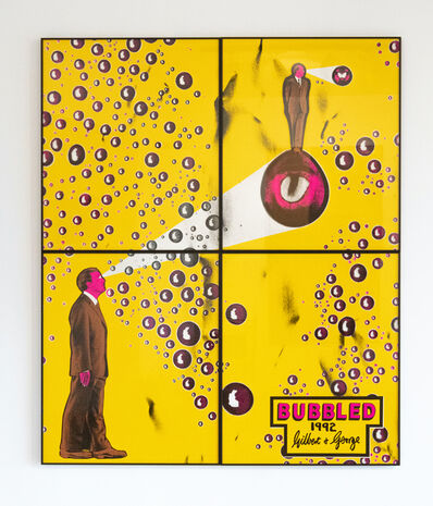 Gilbert and George, 'Bubbled', 1992