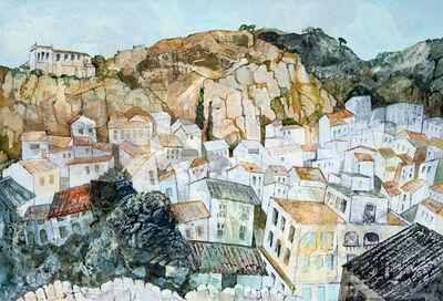 Jenny Grevatte, 'Late Afternoon Sun, Scicli, Sicily', 2020