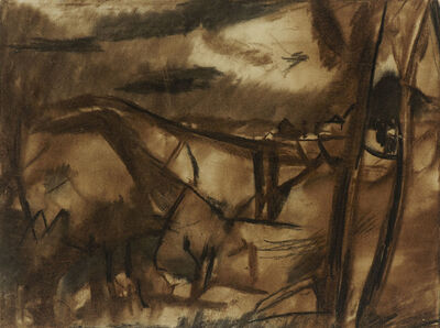 David Bomberg, 'Ronda, Spain', 1954-1956