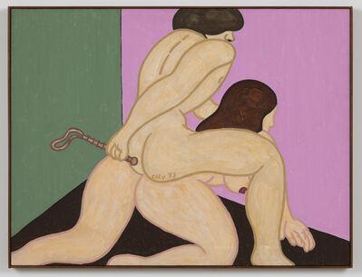 William Nelson Copley, 'Destry Rides Again', 1973