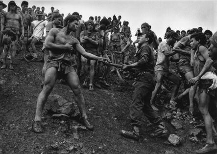 Sebastião Salgado, 'Military Police Patrolling the Gold Mine of Serra Pelada, State of Para, Brazil', 1986