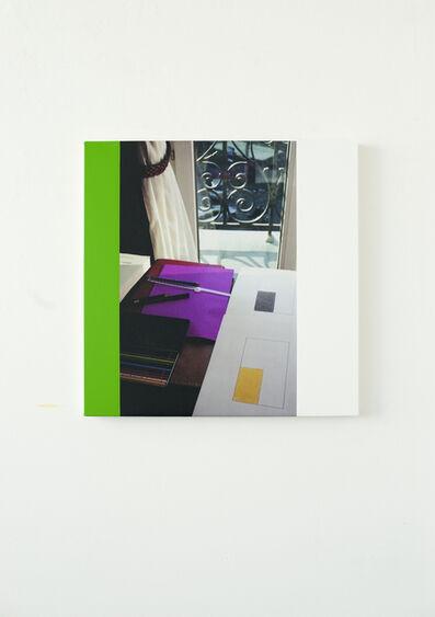 Ian Wallace, 'Abstract Composition (Hotel de Nice, Paris) IV', 2015