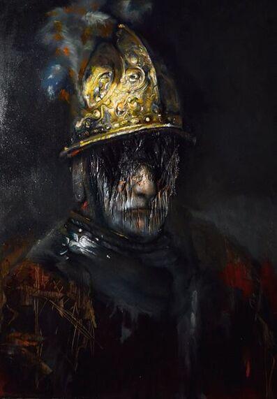 Luis Gomez, 'Rembrandt series-The Man with the Golden Helmet', 2018