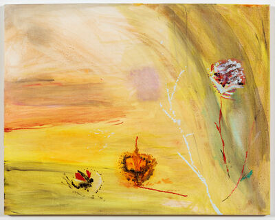 Sally Egbert, 'Flowers and a Branch', 2015