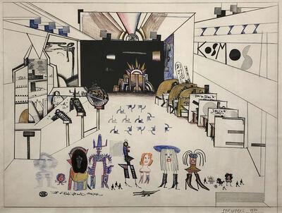 Saul Steinberg, 'Kosmos Diner', 1970