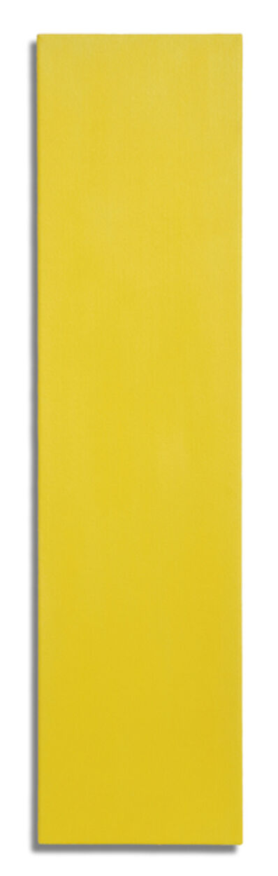 Brian Blanchflower, 'Megalith (yellow)', 2011-2013