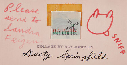 Ray Johnson, 'Dusty Springfield', 1987