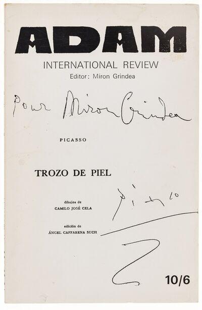 Pablo Picasso, 'Adam International Review No. 322-4', 1967