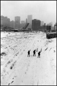 Hiroji Kubota, 'Black Panthers protesting. Illinois, Chicago. USA  ', 1969