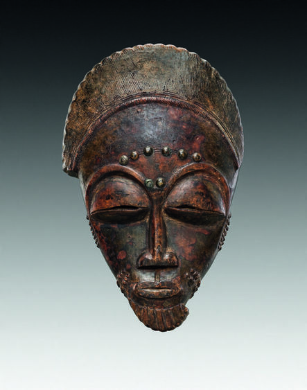 Totokro Master, 'Masque (Mask)', c.1900
