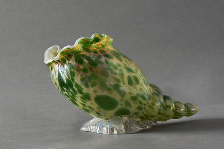 Johann Lotz, 'Conchiglia, Vase, shell shaped', ca. 1900