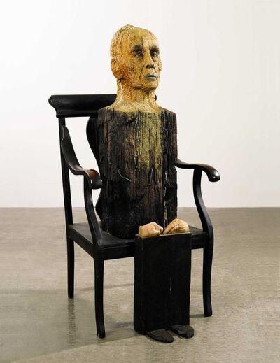 Marisol, 'Portrait of Martha Graham', 1977