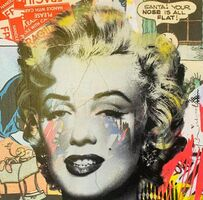 Mr. Brainwash, 'Marilyn Monroe', 2016